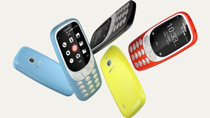 Nokia 3310 ganha versão com 4G e variante do Android